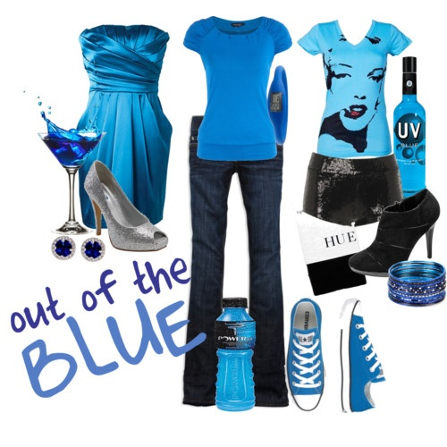 Love the color BLUE! <3