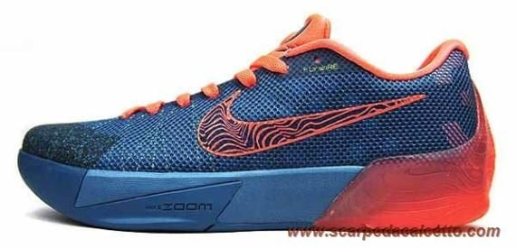 "Rift Blu/Mango brillante 679865-484 ""Weatherman"" Nike KD Trey 5 II migliori scarpe da calcetto"