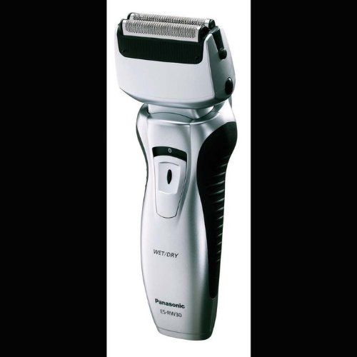 Panasonic ES-RW30-S Men's Dual Blade Wet / Dry Shaver - Panasonic's Men's Wet /Dry Shavers are packed with smart, innovative, features that deliver a remarkably close and comfortable shave.  The ES-RW30-S is a 2-Blade shaving system which means more