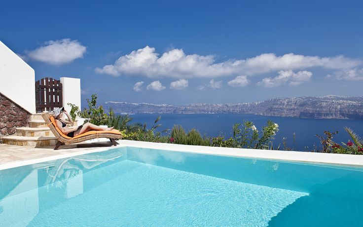 Maison Des Lys - Akrotiri Santorini Luxury Hotel Suites - Junior Suite with a private swimming pool