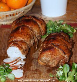 moje pasje: Indyk pieczony na kanapki w słodko-ostrej marynacie