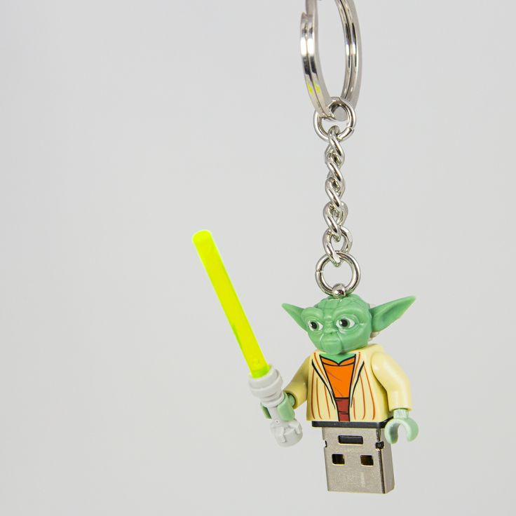 #Yoda #Pendrive 8GB #USB #lego #flash #pendrive #minifigures #handmade #brick-craft http://pl.dawanda.com/shop/brickcraft