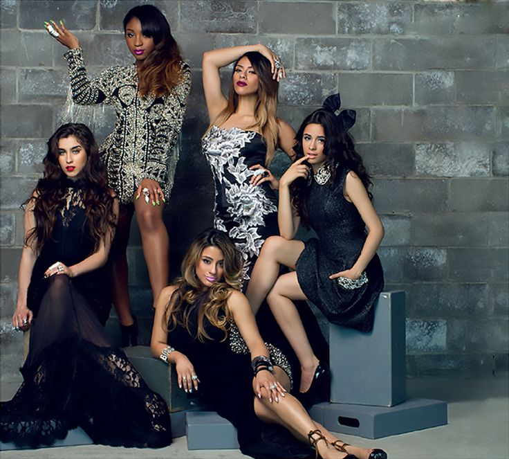 Fifth Harmony-Lauren Michelle Jauregui, Allyson Brooke Hernandez, Karla Camila Cabello, Dinah Jane Hansen, and Normani Kordei Hamilton