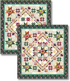 Color Love Block of the Month - Stitchin Heaven