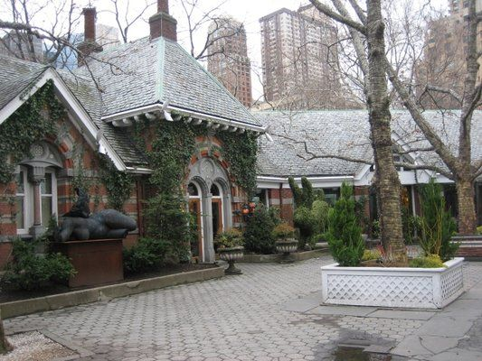 Tavern on The Green.  Central Park, NYC.  Had lunch in this beautiful landmark.  Sadly, it is no longer in operation.