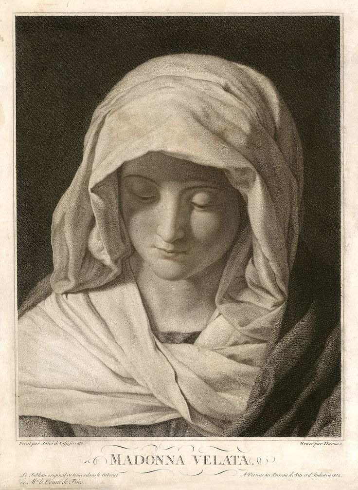 Durmer - Salvi: Madonna Velata - Virgin Mary