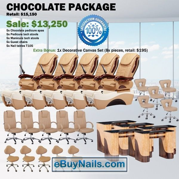 Chocolate Spa Pedicure Chair Package – Free shipping - $12850 ,  https://www.ebuynails.com/shop/chocolate-spa-pedicure-chair-package-free-shipping/ #pedicurespa#pedicurechair#pedispa#pedichair#spachair#ghespa#chairspa#spapedicurechair#chairpedicure#massagespa#massagepedicure#ghematxa#ghelamchan#bonlamchan#ghenail#nail#manicure#pedicure#spasalon#nailsalon#spanail#nailspa#massagechair