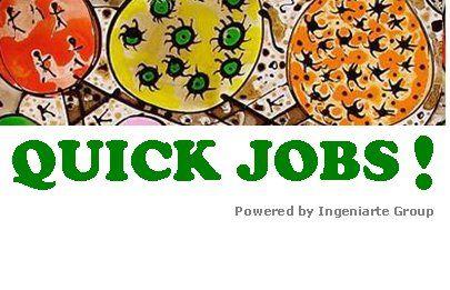 Quick Jobs! Nuestra Misión: Ayudar a nuestros conocidos y amigos a encontrar trabajo a través de la Web 3.0