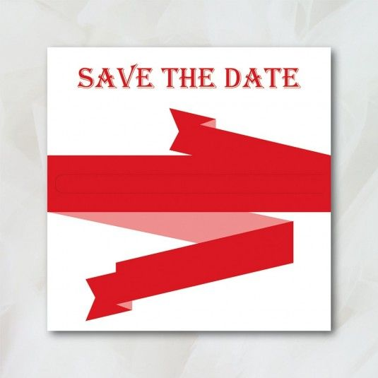 Save The Date - Rock'n Chic - Papeterie Mariage