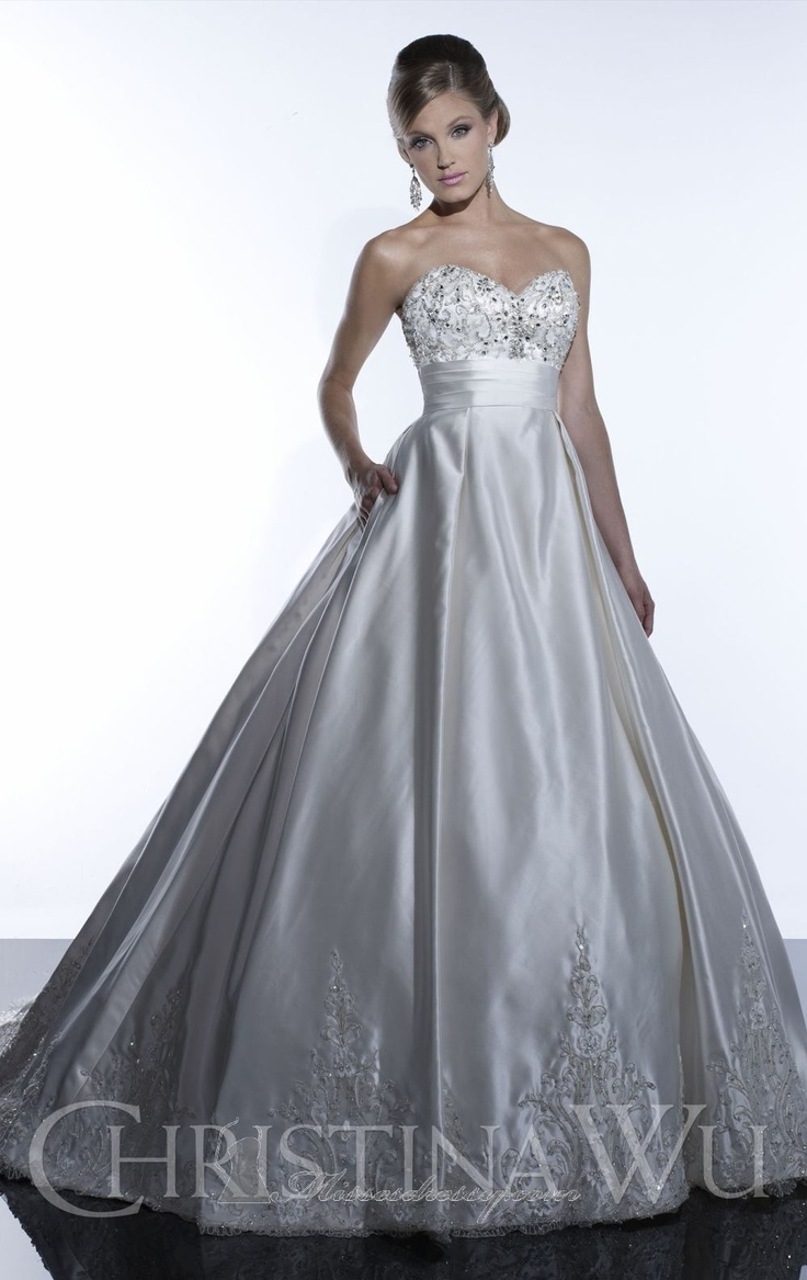 12 best beautiful dresses images on pinterest wedding for Custom made wedding dresses dallas