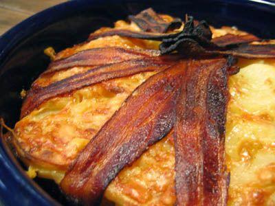 Bacon and Cheese Potato Cake | Food Stuff | Pinterest