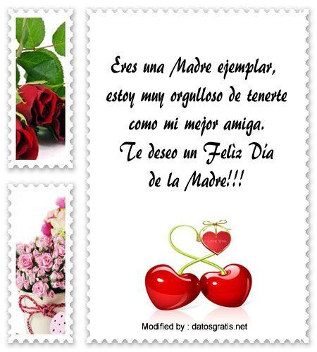 Bonitos Mensajes Por El Dia De La Madre Para Mi Mejor Amiga Dia