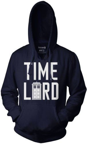 Doctor Who Time Lord Pull Over Hoodie « ShirtAdd.com – Perfect Fit Shirts