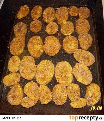 Pečené brambory   Retro