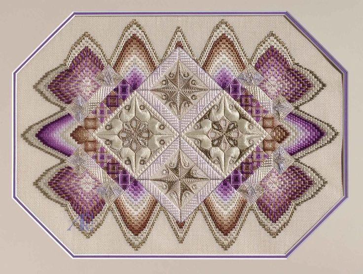geometric needlepoint