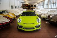 Porsche Exclusive Does A 911 GT3 RS In Retina-Burning Lime Green