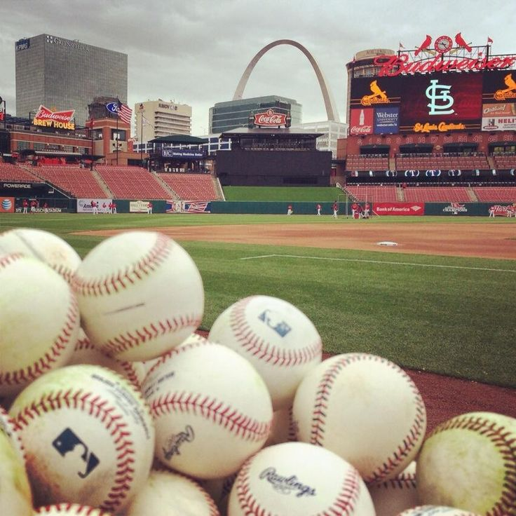 Baseball and St. Louis. A match made in Heaven!