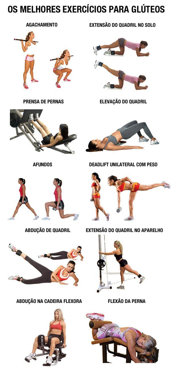 Quais são os melhores exercícios de musculação para treinar perna e glúteo – como deixar o bumbum durinho? - Treino para mulher