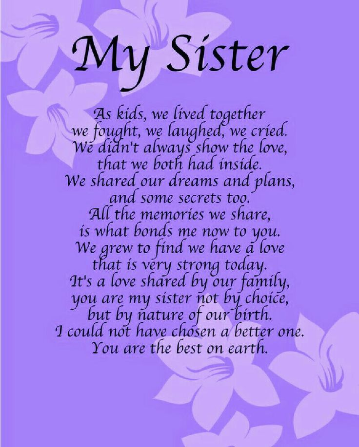Image Result For Inspirational Verse For Sisters Birthday Crafts