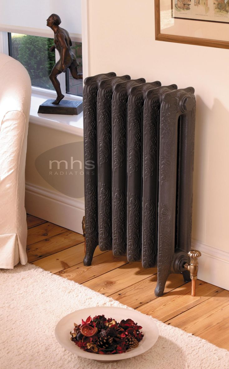 Liberty Traditional Style 660mm Height Period Cast Iron Radiator by MHS Radiators