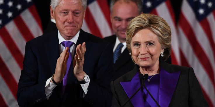 Hillary Clinton Embodies Unity In A Purple Suit At Her Concession Speech | The Huffington Post