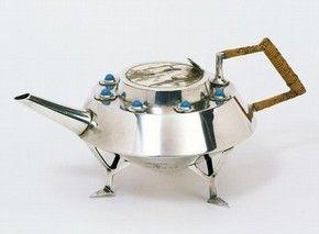Teapot, Christopher Dresser, 1878. Museum no. M.5:1-2006