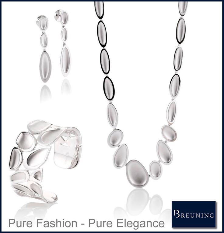 Breuning sieraden Een betaalbare luxe in sieraden De sieraden hebben een eigentijds karakter, de Duitse degelijkheid en een strakke afwerking. Het zijn Fraaie sierlijke sieraden, no-nonsens sieraden die aanspreekt en apart zijn.
