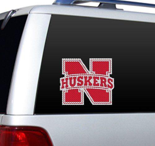 Nebraska Cornhuskers Die-Cut Window Film - Large