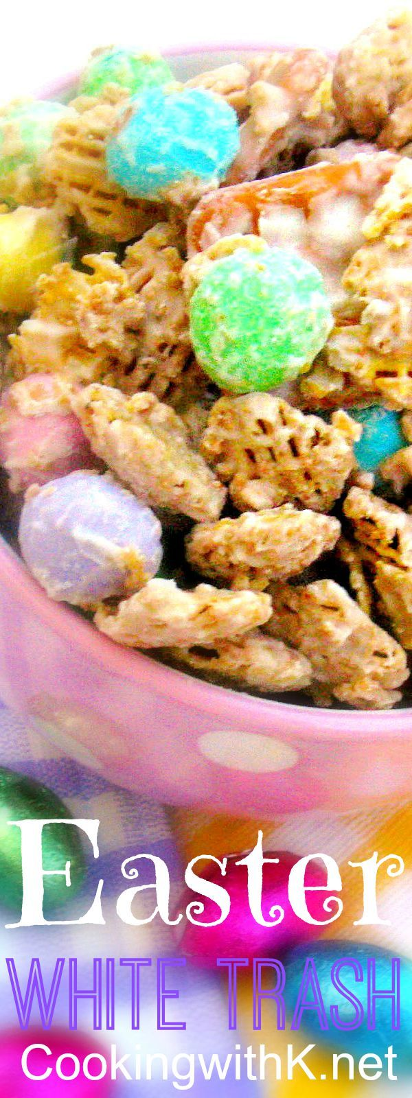 Cooking with K - Southern Kitchen Happenings: Easter White Trash and Cute Gift bags