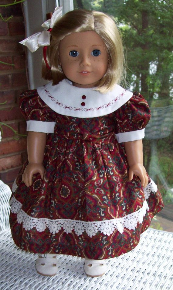 Fits American Girl Doll and other 18 inch dolls.  by ASewSewShop, $22.00