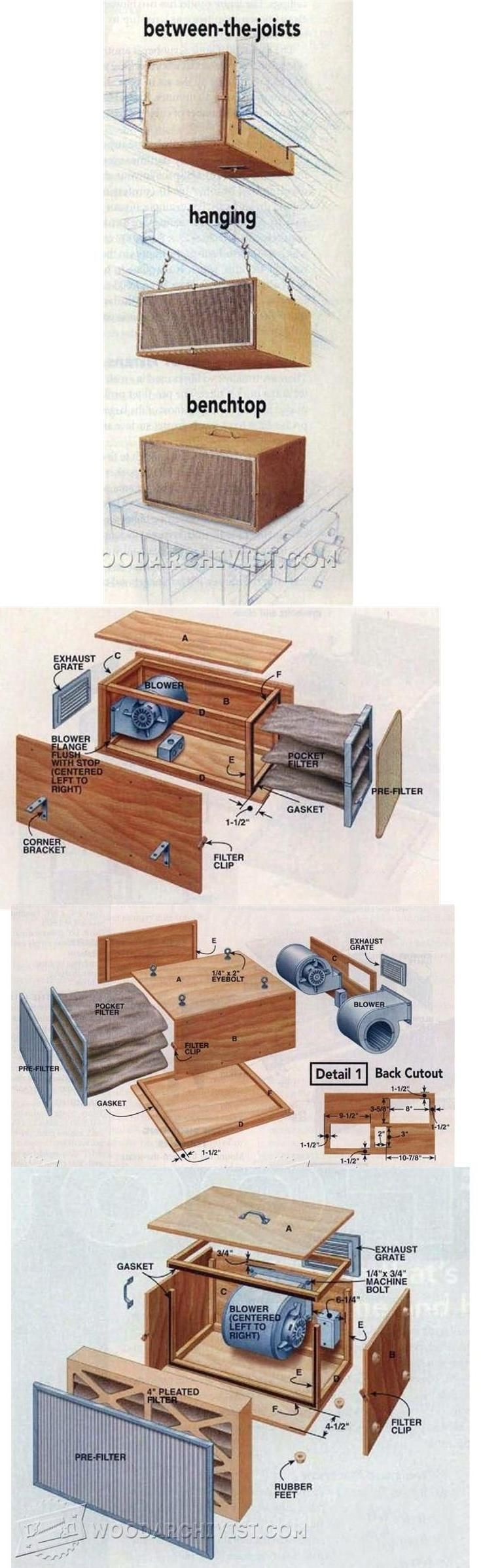 336 Best Opslagstavlen Images On Pinterest Carpentry Wood Simple Moonshine Still Diagram Diy Air Scrubber Dust Collection Tips Jigs And Fixtures Woodwork Woodworking Plans Projects