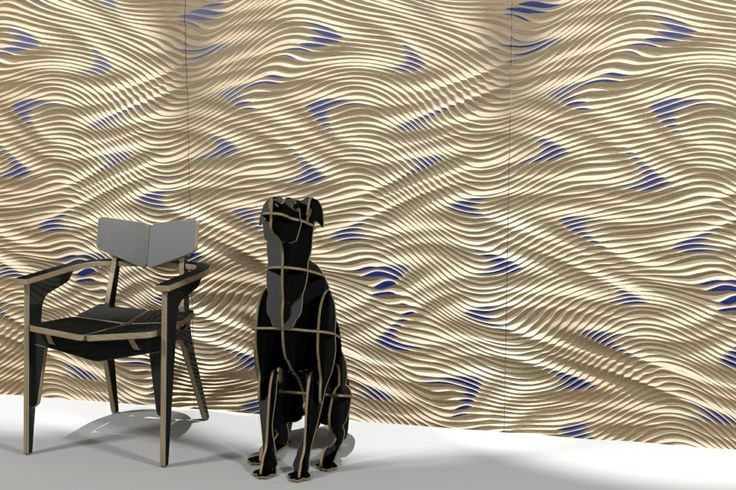 3d carved panel / plywood furniture