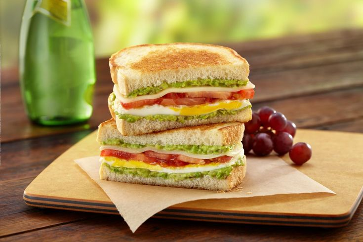 Cali-Style Fried Egg Sandwich