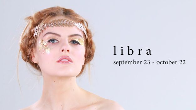 This flirty look is perfect for Libra: | These Astrology-Inspired Makeup Looks Absolutely Slay