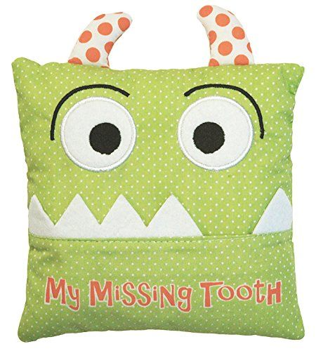 Little Boy's Green Tooth Fairy Pillow by Almas Designs ** You can get more details at http://www.ilikeboutique.com/boutique/little-boys-green-tooth-fairy-pillow-by-almas-designs/?jk=270616031033