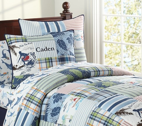 Lahaina Quilted Bedding Pottery Barn Kids. This is what