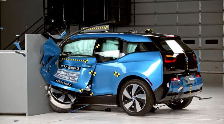Tesla Model S and BMW i3 fall short of IIHS Top Safety
