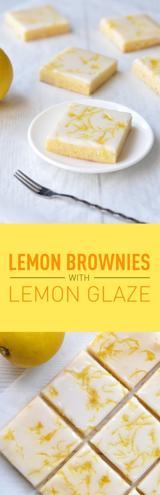 If youâve never had lemon brownies before youâre seriously missing out. Theyâre not like typical chocolate brownies made with dark/milk chocolate. Theyâre not even like blondies made with white chocolate.