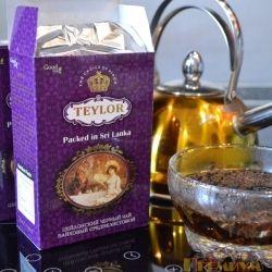 "Цейлонский чёрный чай ""Teylor"""
