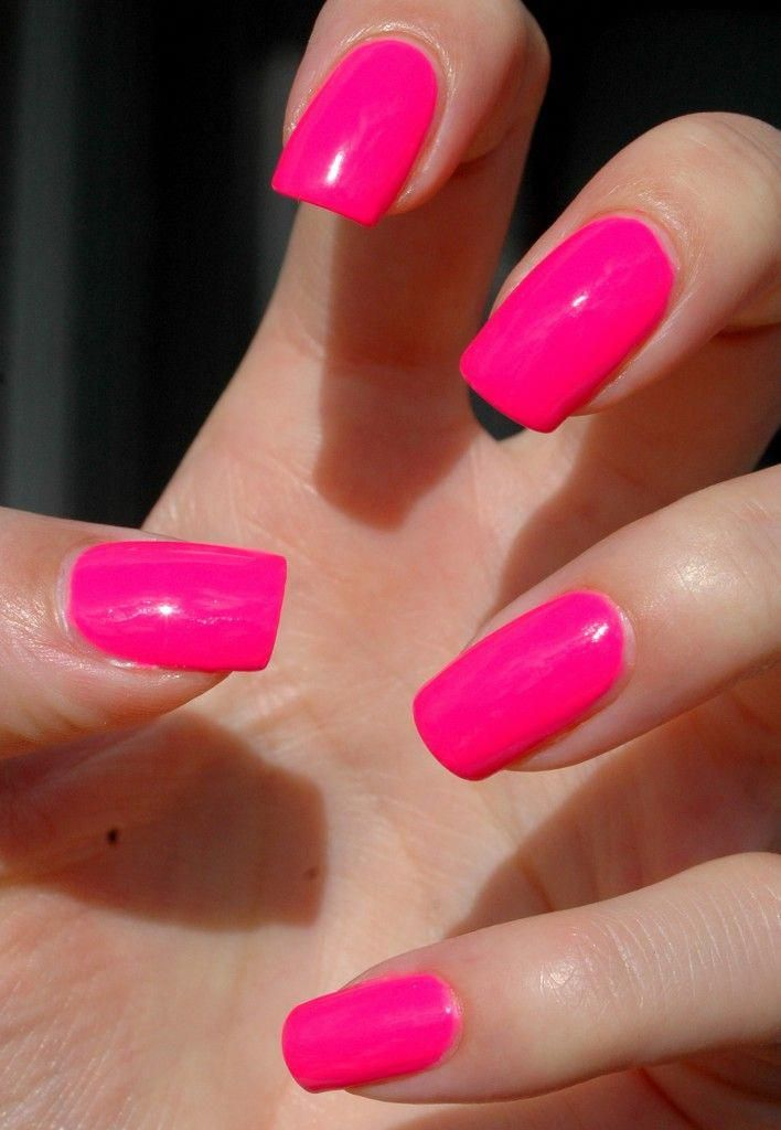 Nails More Awesome Takes On Nail Ideas The Totally Useful Pin Pinned On This Imaginative Day 20200214 Prettynatura Neon Pink Nails Pink Acrylic Nails Nails