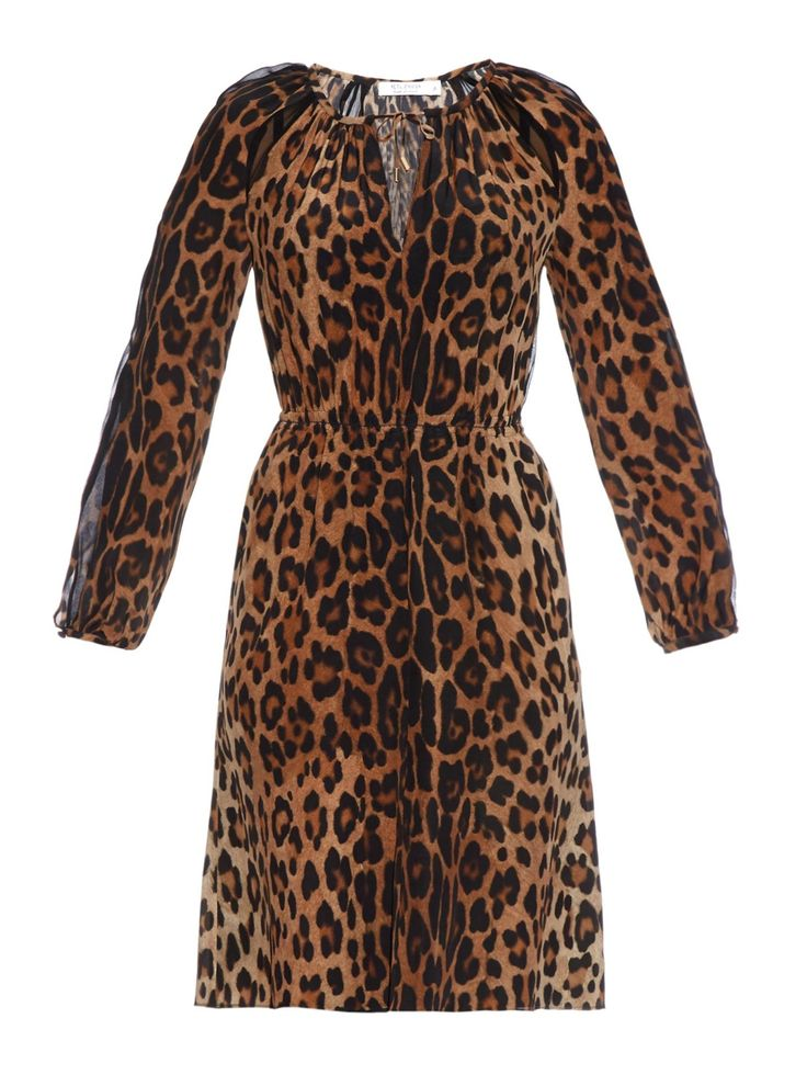 Sasa leopard-print silk dress | Altuzarra | MATCHESFASHION.COM US