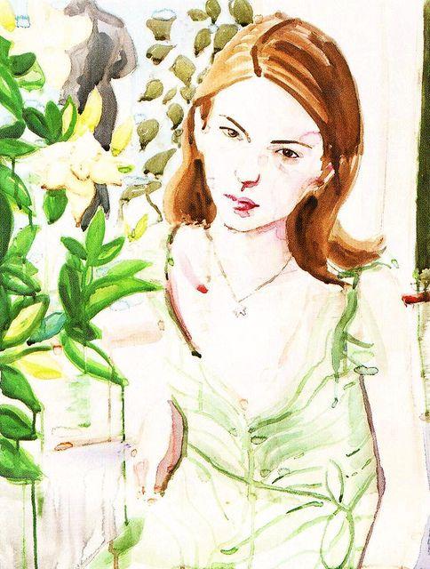sofia by elizabeth peyton