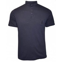 BOLONGARO TREVOR BASE POLO NAVY - Polo Shirts - Menswear. Perfect with a pair of bright shorts.