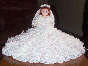 FREE PATTERN ~ C ~ MEAGHAN BED DOLL PATTERN BY RICOCHET 1950  pattern for 13 inch doll