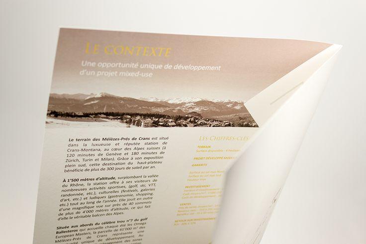 Fiche 2 volets au format A4 fermé (420x297cm ouvert) / Impression en quadri sur papier OldMill Premium White 300gr #carterie