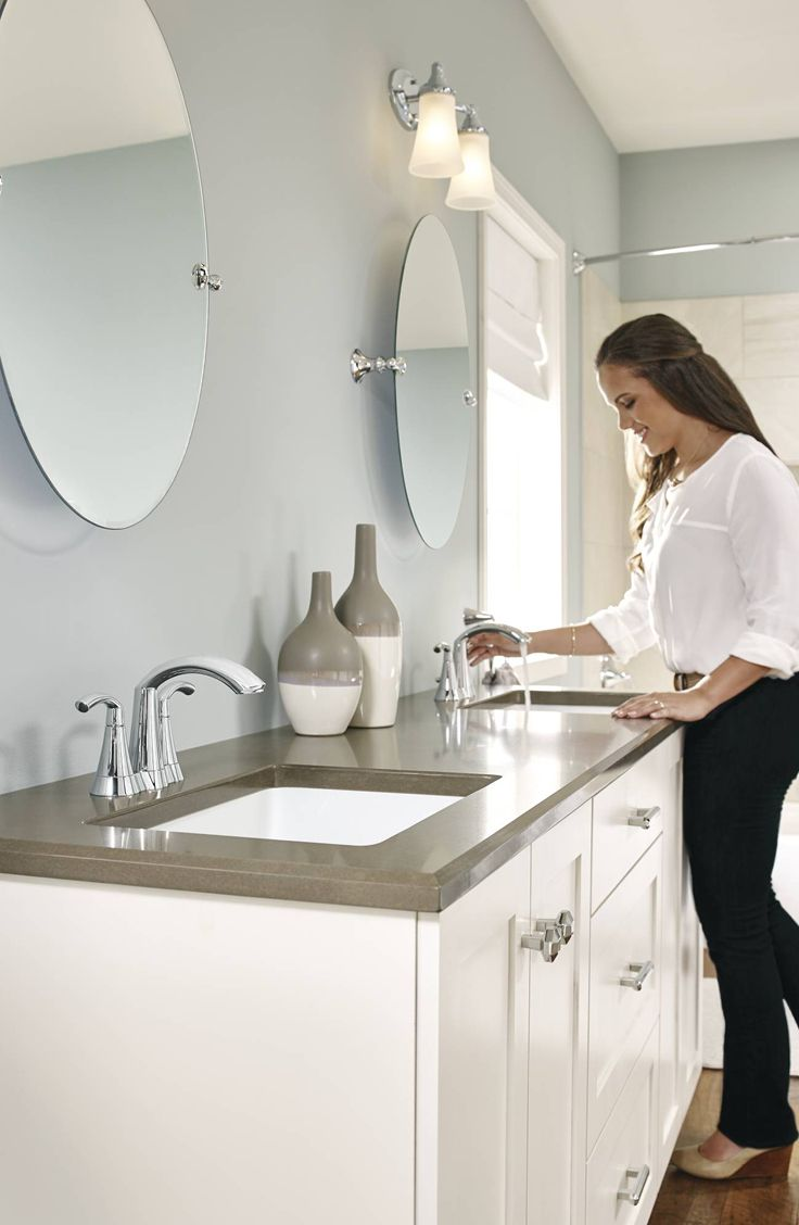 whether your style is more traditional or our glyde faucet is the perfect faucet - Moen Boardwalk