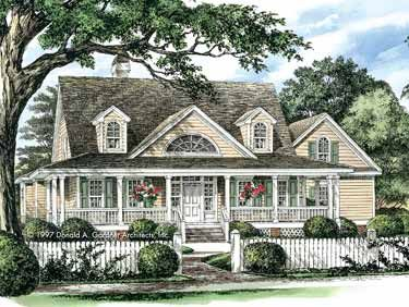 house plans country style home plans homepw07397 2 298 square 4 bedroom 3 18500