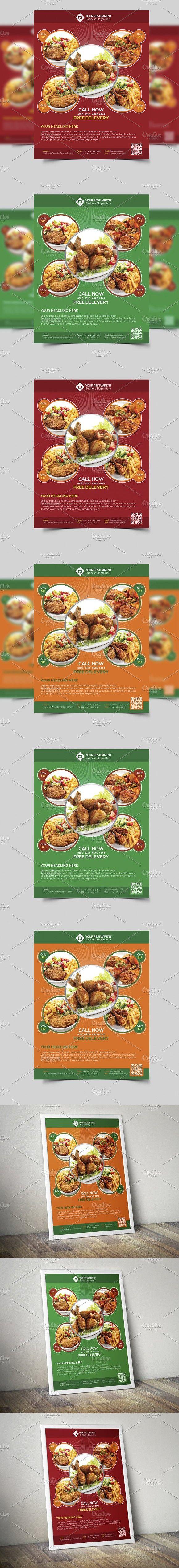 Restaurant u0026 Food Flyer Template 61 best