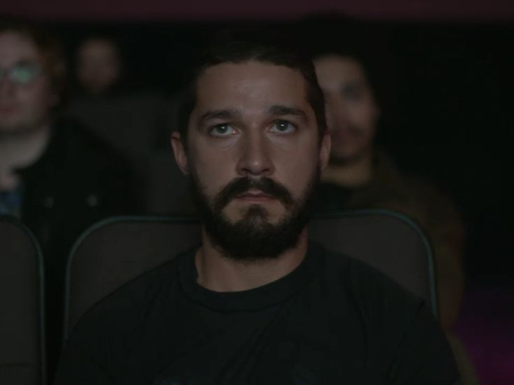 Shia Labeouf is watching all his own movies in New York City ...