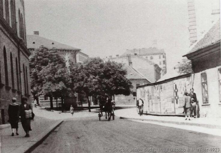 irma tér, 1923, budapest